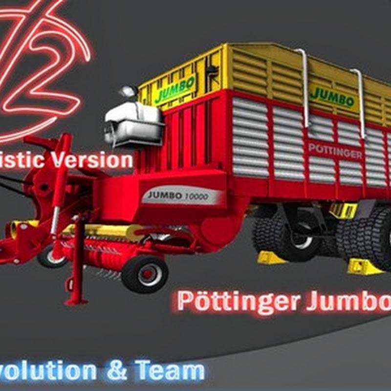 Farming simulator 2013 - Pöttinger Jumbo 10000L v 2.0 MR