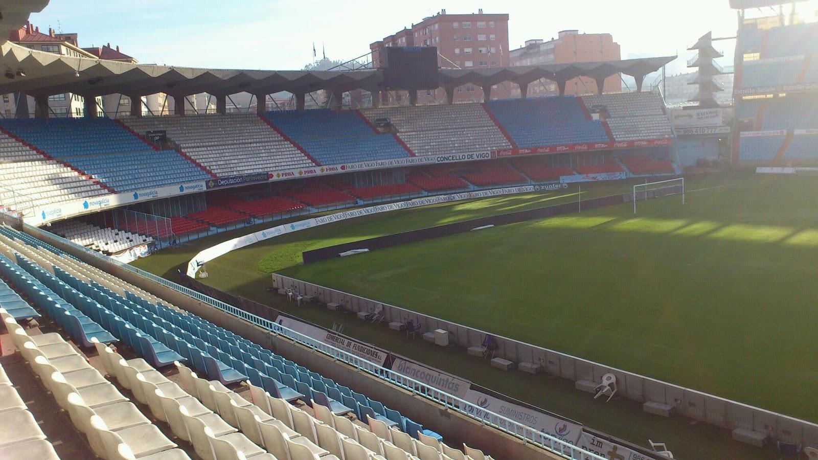 Resultado de imagen de Estadio de Balaídos, Vigo