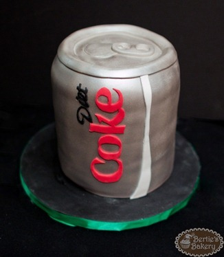 Diet Coke Birthday Cake1