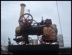 Indonesia, Jogykarta, Marshall Traction Engine, 15 January 2013 (2)