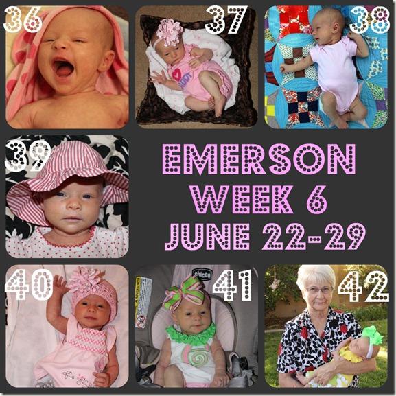 Emerson Week 6