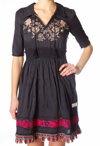 #745 Sigh dress Almost black