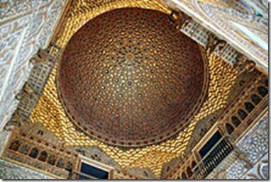 inside Alcazar seville
