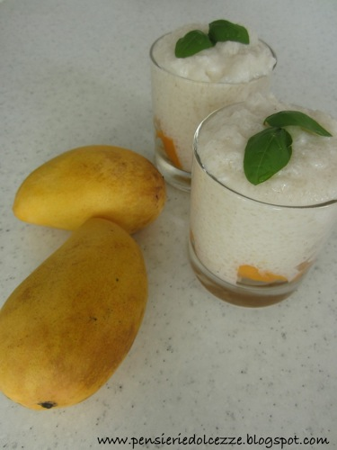 Coconut Mango Tapioca Pudding 2