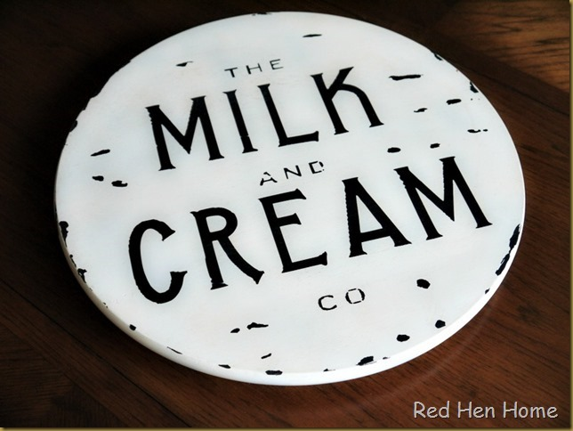 Red Hen Home Milk & Cream