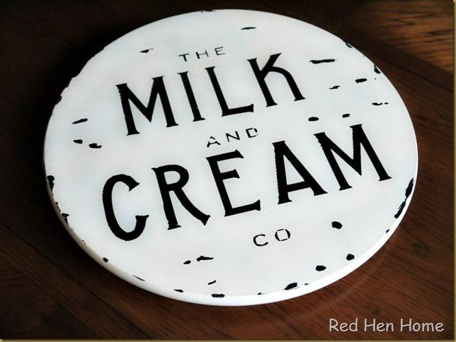 Red Hen Home Milk & Cream