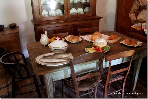 destrehan plantation - the kitchen