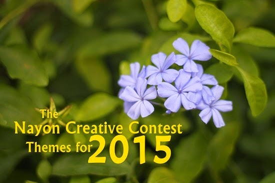 Nayon Creative Contest Themes for 2015