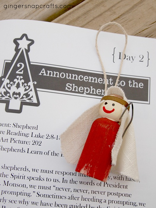 shepherd ornament