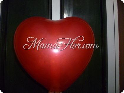 Corazón de Masilla usando un Globo | Materiales Reciclables