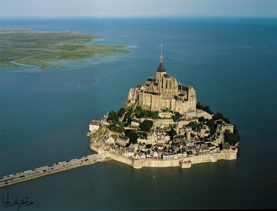 قلعة مونت سانت ميشيل فرنسا