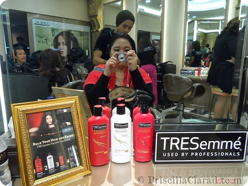 Priscilla Tresemme Keratin Treatment blogger 6