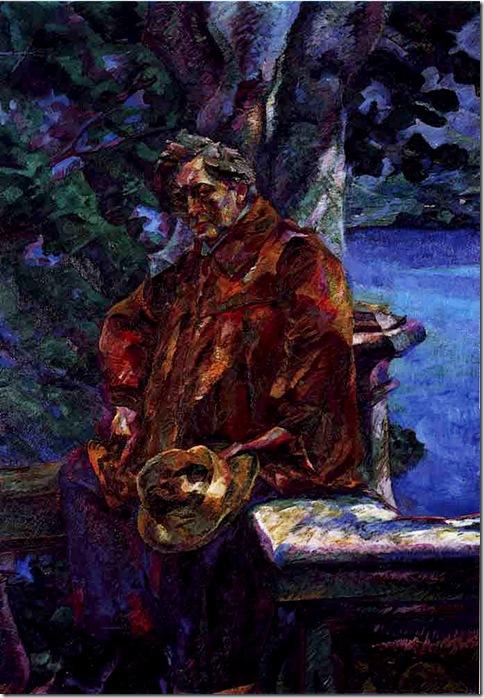Umberto Boccioni -Ritratto del Maestro Busoni (1916)