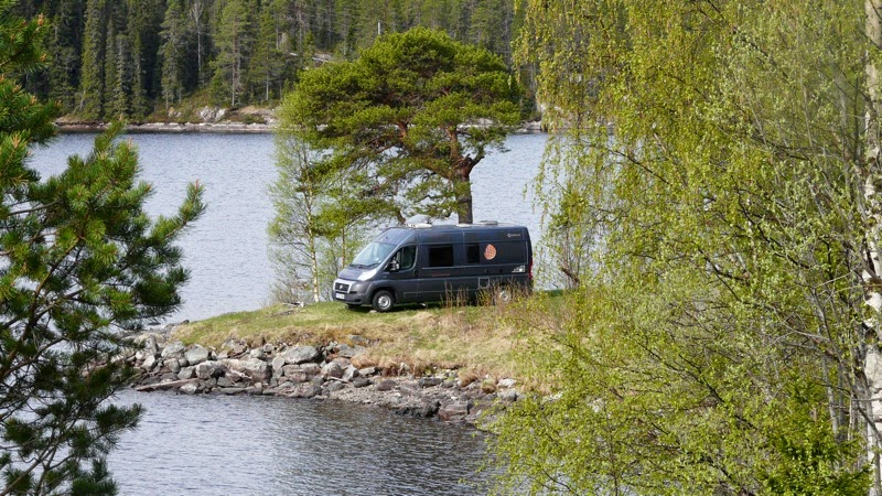 Wolfy Goes To Scandawegia And Scotland 22 May E33 Sweden To Norway