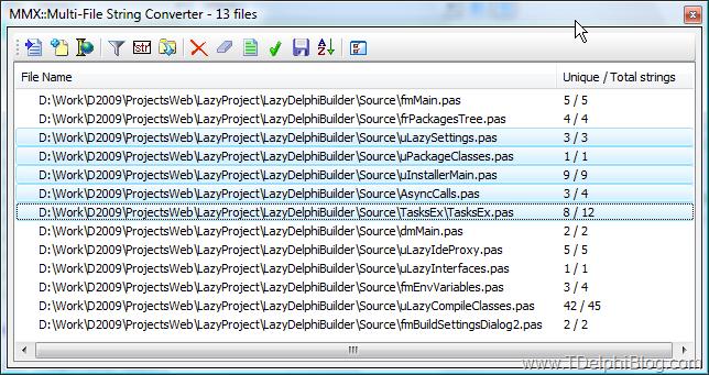MMX: Мастер ковертации строк в файлах