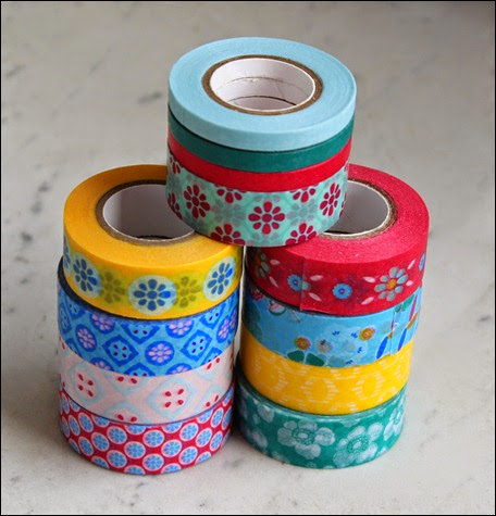 Filofaxing Tchibo Washi Tape Masking Tape bunt
