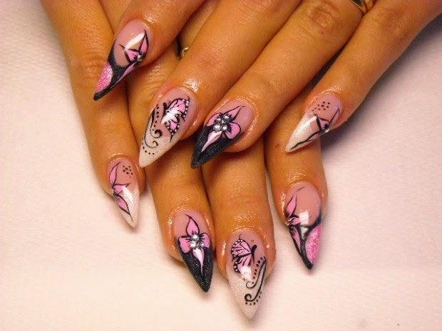New Sharp Nails Style On Fashion Scene