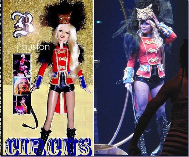 Boneca-Britney-Spears-Circus-Tour
