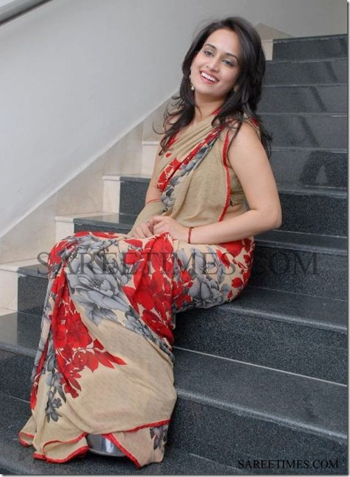 Chinmayi_Designer_Printed_Saree