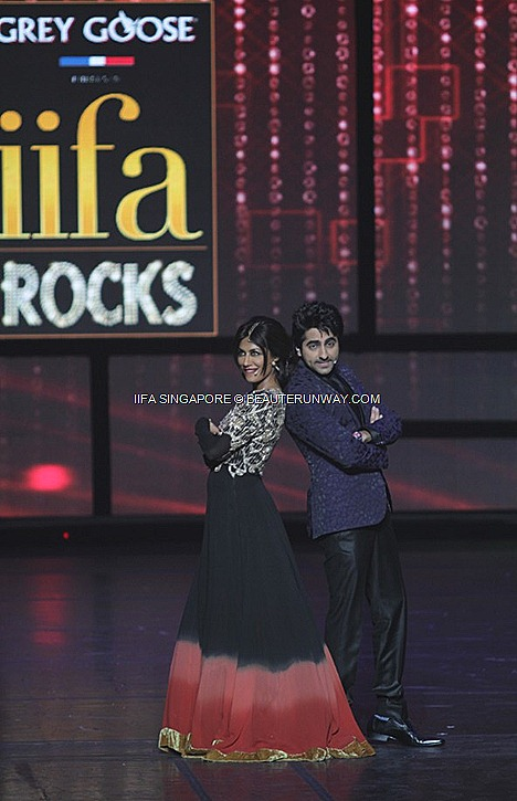 Grey Goose IIFA ROCKS SINGAPORE ESPLANADE  Chitrangada Singh Ayushmann Khurana Gucci  Nargis Fakhri, Bipasha Basu Rishi Ranbir Kapoor WORLD PREMIERE Videocon DDB