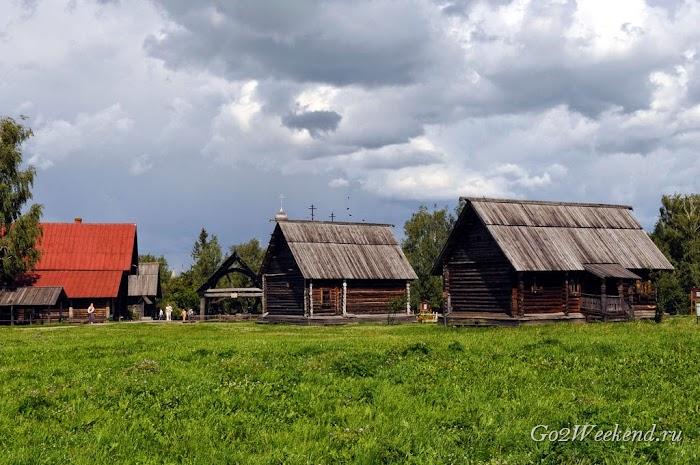 Музей деревянного зодчества Суздаль