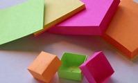 concurso origami postit
