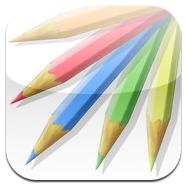 colored pencils iphone app