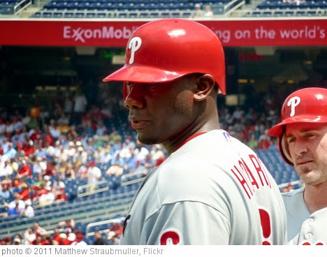 'Ryan Howard breaking a sweat on a hot day' photo (c) 2011, Matthew Straubmuller - license: https://creativecommons.org/licenses/by/2.0/