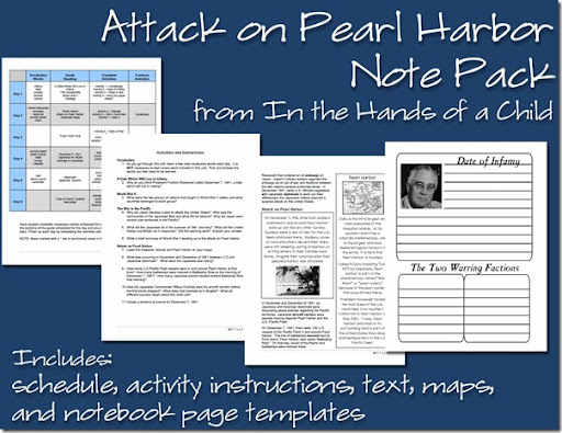 Review Of Attack On Pearl Harbor From In The Hands A Child At Homeschooling Hearts: Pearl Harbor Worksheet At Alzheimers-prions.com