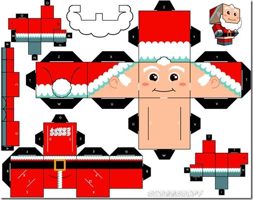 Cubeecraft-Santa