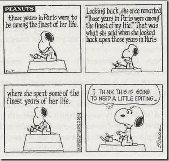 Snoopy Editing