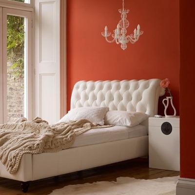 verftechnieken-muur-oranjekleur-voorbeeld