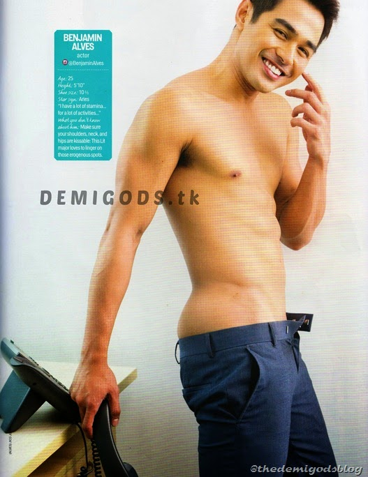 Cosmo Centerfolds 2014 Tower 69 DEMIGODS (3) Benjamin Alves 1