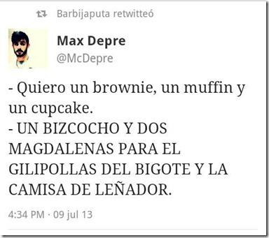 un brownie