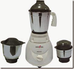 Flipkart:Buy Kenstar KMG50WSZ-DBB 500 W Mixer Grinder  at Rs. 1899 only
