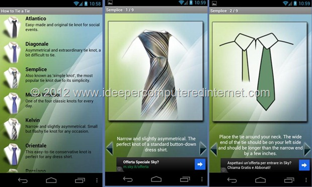 nodo-cravatta-applicazione-android