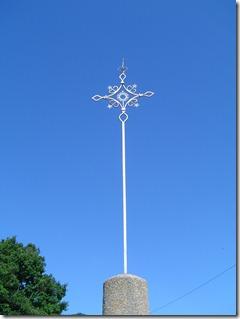 La croix du cimetière date de 1826