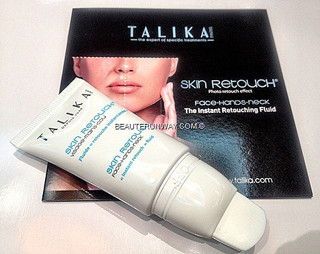 TALIKA SKIN RETOUCH primer conceal wrinkles fills fine lines brighten reduce redness flaws REVIEW mattify good SKIN