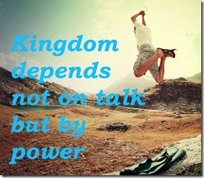 KingdomNotTalkPower