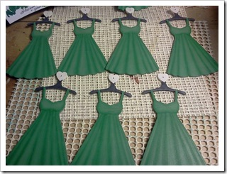 Dress ornaments base coated