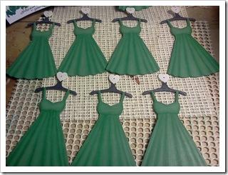 Dress ornaments base coated