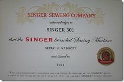 singer 002