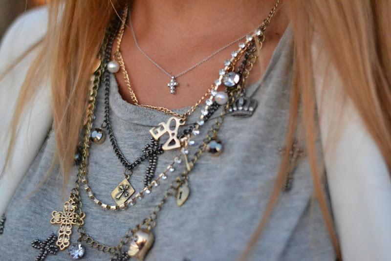 Primark, Primark Jewels, Primark Cross and Skull, Primark Necklace