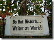 Do Not Disturb - Writer At Work