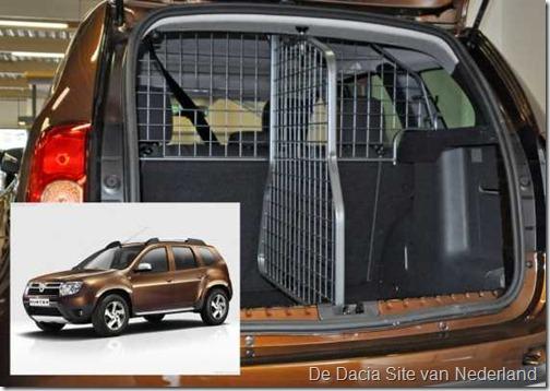 Honden-bagagerek Dacia Duster 02