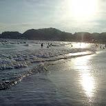 Yuigahama Beach in Kamakura, Japan in Kamakura, Kanagawa, Japan