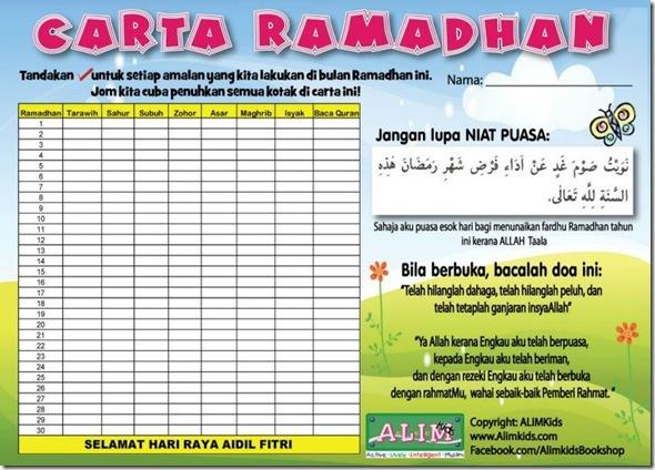 carta ramadhan