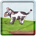 Cow Says Moo Game for Kids! icon