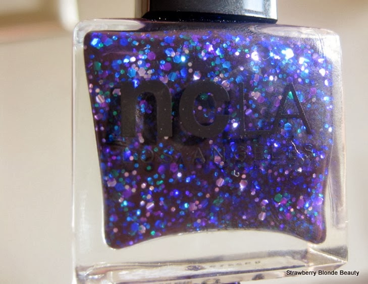 NCLA-Prized-Possessions-indigo-purple-blue-glitter-nail-polish-varnish