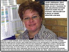 Odendaal Janet shot dead outside Kempton Park police station